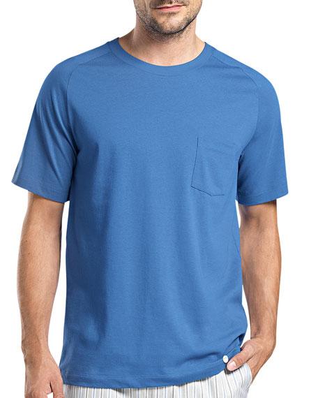 Alvaro Short-Sleeve Lounge T-Shirt, Blue