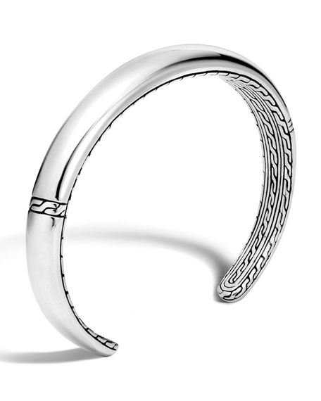 Men's Classic Chain Open Cuff Bracelet