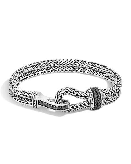 Men's Classic Chain Hook-Station Bracelet