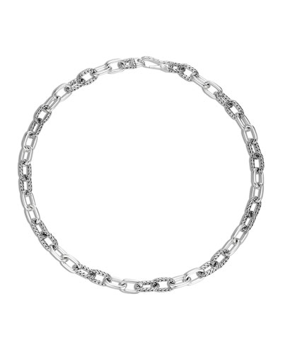 Men's Classic Chain Silver Necklace