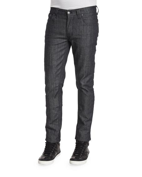 Nudie Grim Trim Dry Clean Denim Jeans, Dark