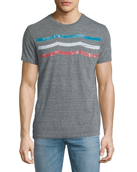 Sol Angeles Portofino Graphic Short-Sleeve T-Shirt, Gray