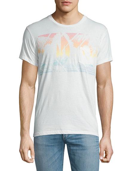 Sol Angeles Mystic Sail Graphic Short-Sleeve T-Shirt, White