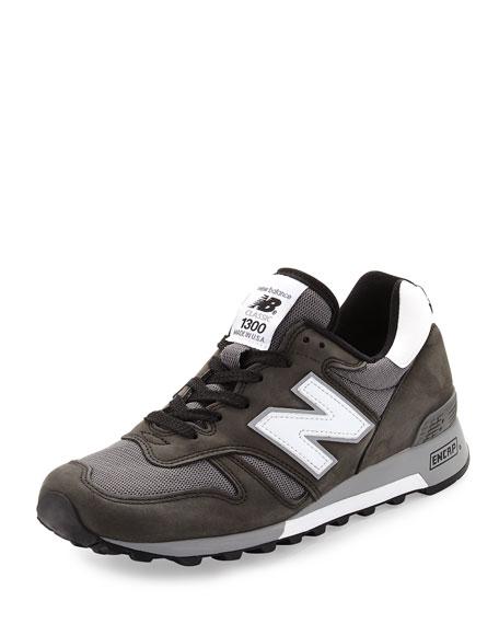 New Balance Men's 1300 Heritage Men's Suede/Mesh Sneaker,