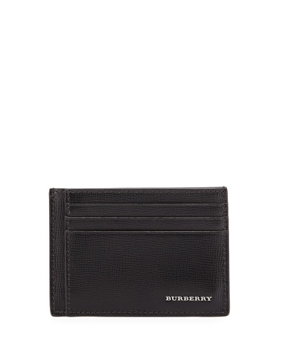 Bernie Leather Card Case, Black