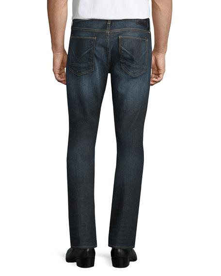 Blake Dunlin Washed Denim Jeans, Blue