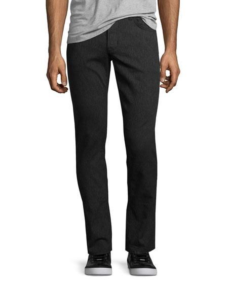 Hudson Jeans Blake Smoky Aura Slim-Straight Jeans, Dark Gray