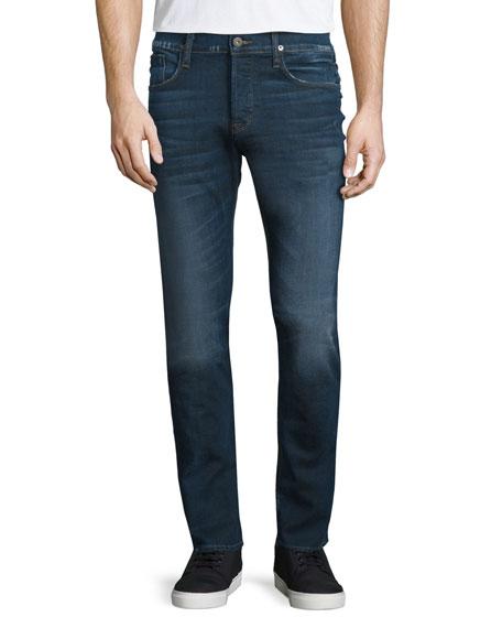 Hudson Jeans Sartor Salt Water Skinny-Leg Denim Jeans, Blue