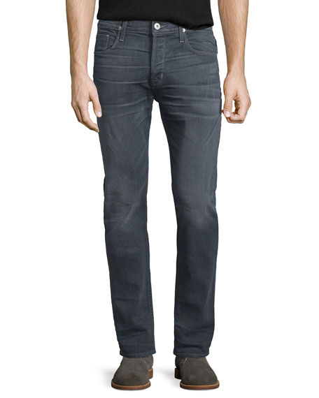 Hudson Sartor Turnstone Washed Skinny-Leg Denim Jeans, Blue