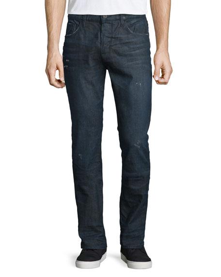 Hudson Jeans Sartor Cosmonaut Slim-Fit Denim Jeans, Blue
