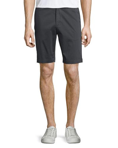Brucer Flat-Front Shorts, Night