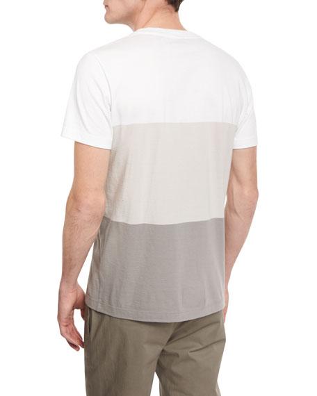Koree Colorblock Short-Sleeve T-Shirt, White Multi