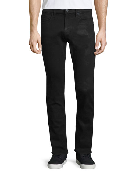 J Brand Tyler Hoyt Slim-Fit Denim Jeans, Black