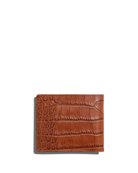 Men's Alligator Classic Bifold Wallet