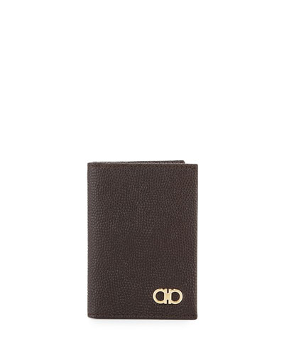 Ten-Forty One Leather Bi-Fold Card Case, Chocolate