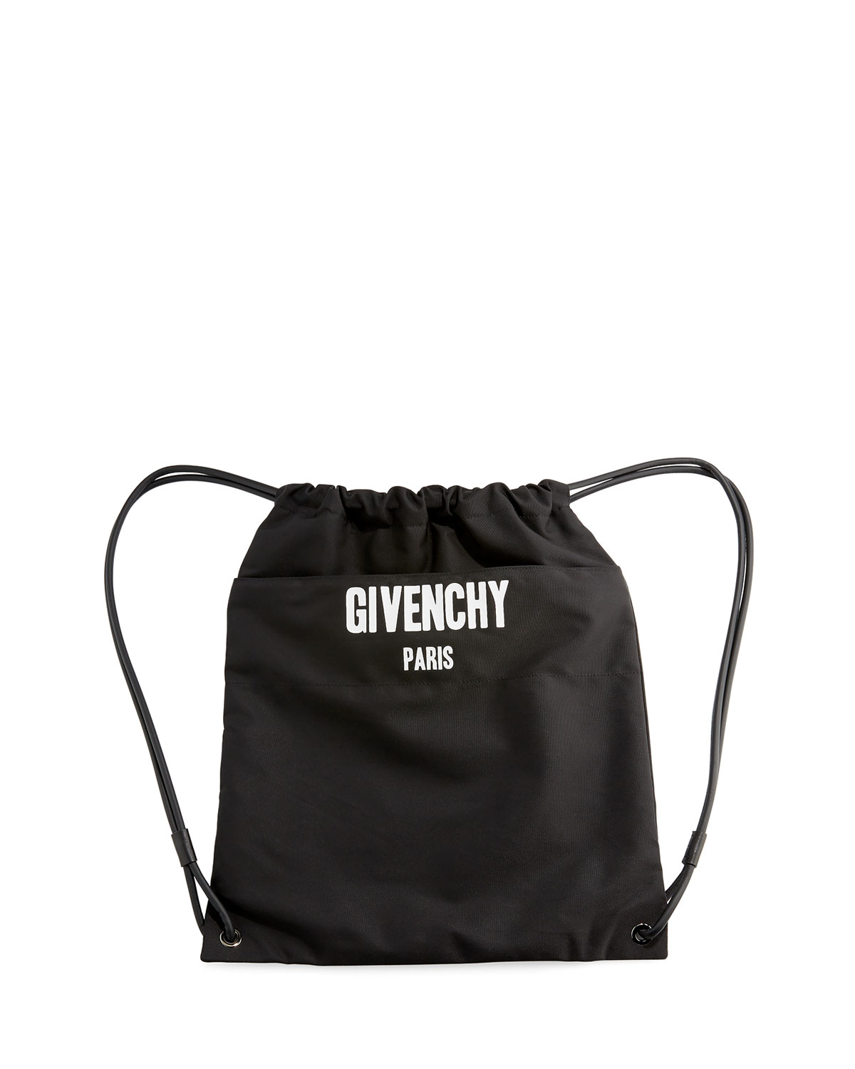 2bdeb26f38 Givenchy Rave Paris Men s Logo Drawstring Backpack