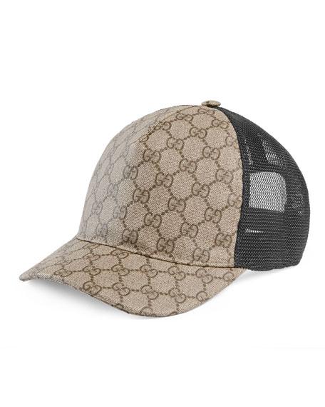 GG/MESH BASEBALL HAT BEIGE