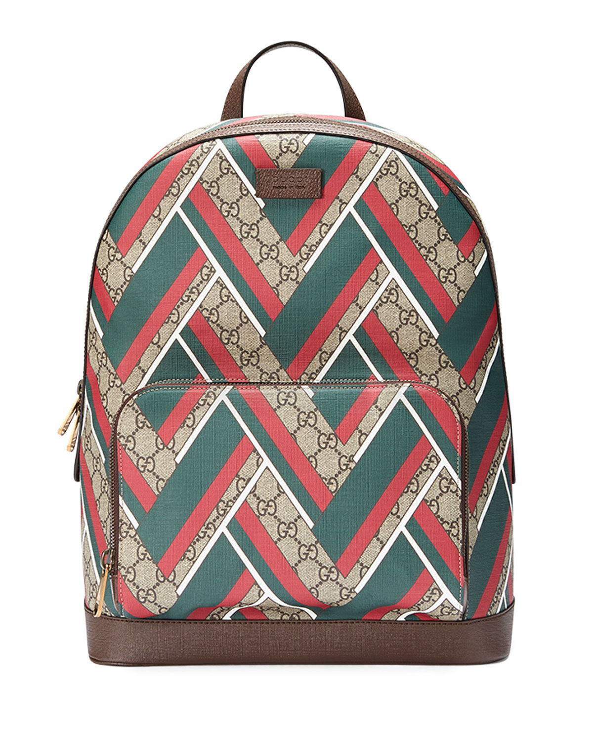 Gucci GG Chevron Canvas Backpack c21525198c42c