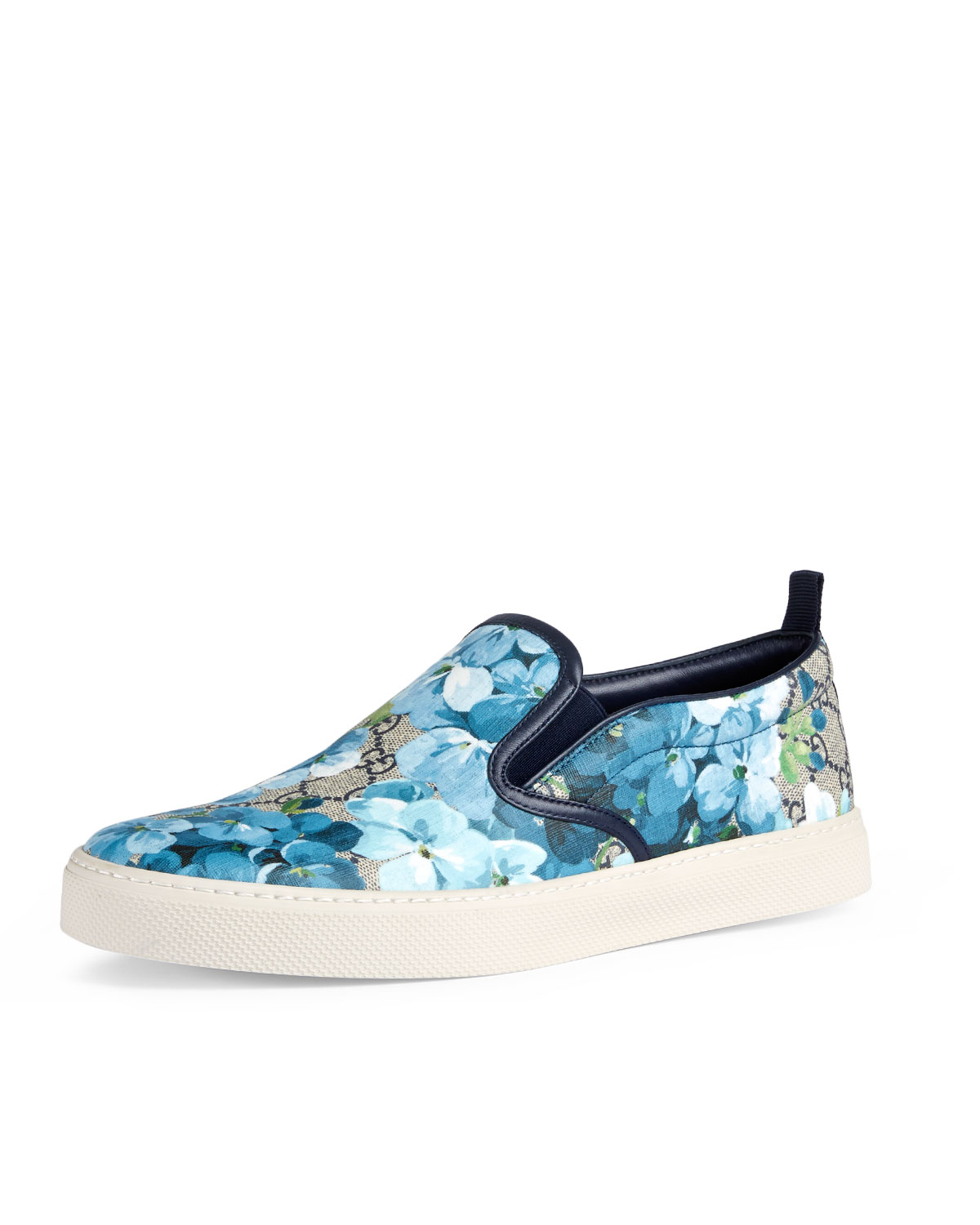 5a18057155f Gucci Dublin GG Blooms Canvas Slip-On Sneaker
