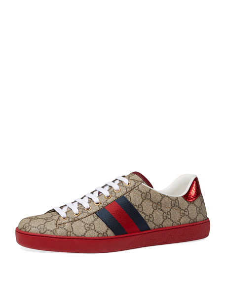 New Ace GG Supreme Low-Top Sneaker