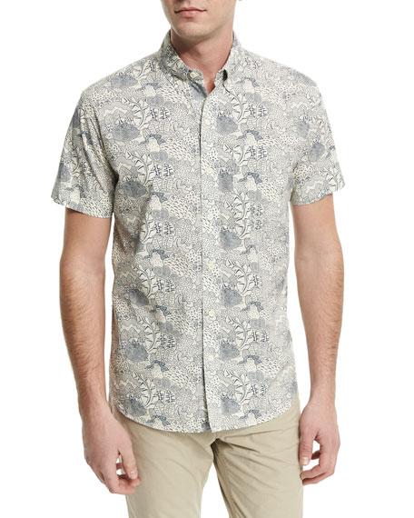 Billy Reid Rustin Textured Cotton Sport Coat &