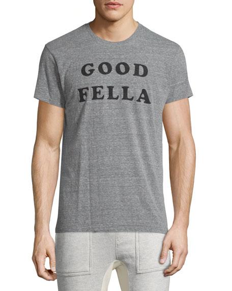 Sol Angeles Good Fella Short-Sleeve Graphic T-Shirt, Gray