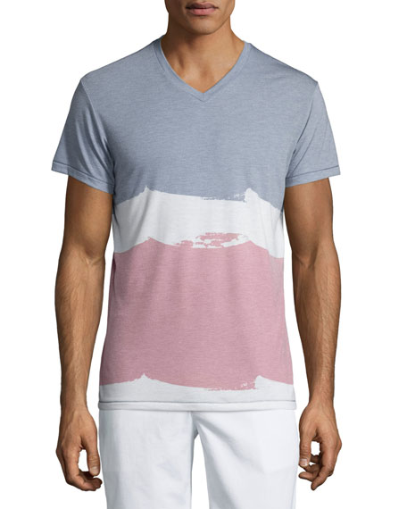 Sol Angeles Multicolored Wave Short-Sleeve T-Shirt, Multi