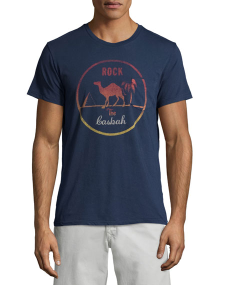 Sol Angeles Rock The Casbah Short-Sleeve T-Shirt, Indigo
