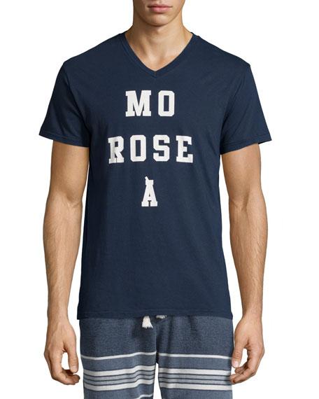 Sol Angeles Mo Rose A Graphic Short-Sleeve T-Shirt, Indigo