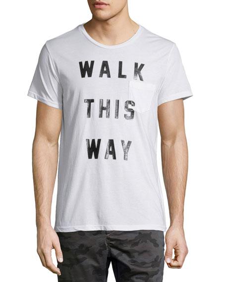 Sol Angeles Walk This Way Graphic Short-Sleeve T-Shirt, White