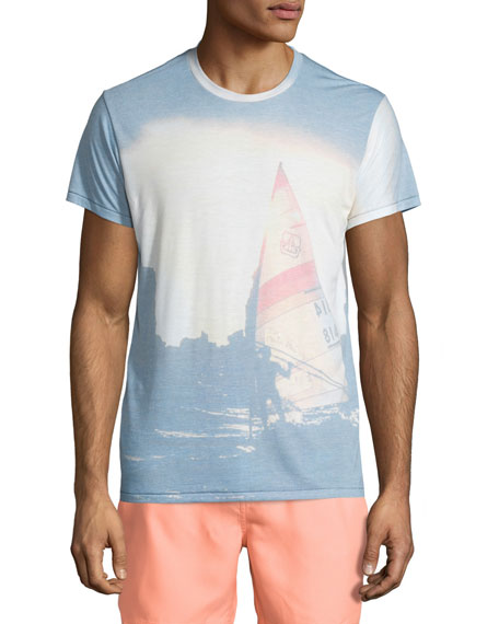 Sol Angeles Sail To Sea Graphic Short-Sleeve T-Shirt, Multi