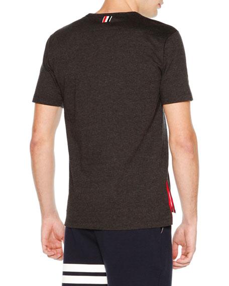 Short-Sleeve Jersey T-Shirt, Charcoal