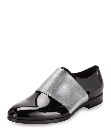 Jimmy Choo Peter Formal Patent Leather Shoe with
