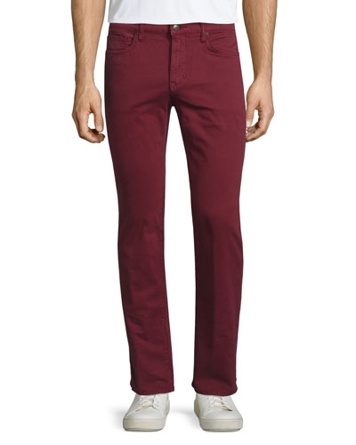 Brixton Henna Twill Jeans, Red