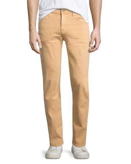 7 For All Mankind Slimmy Squiggle-Pocket Denim Jeans,
