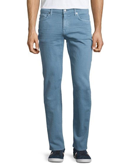 7 For All Mankind Slimmy Freshwater Denim Jeans,