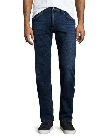 Citizens of Humanity Core Slim-Straight Titan Jeans, Dark