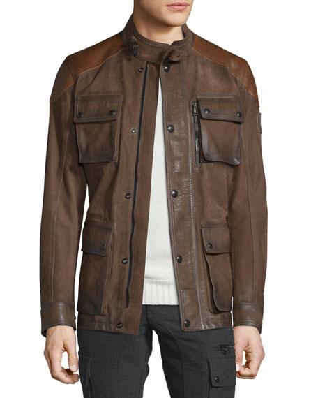 Belstaff Leather Trialmaster