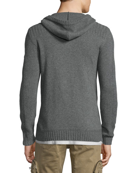 Marnham Full-Zip Hooded Jacket, Asphalt