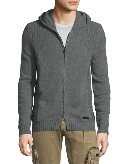Marnham Full-Zip Hooded Jacket, Asphalt