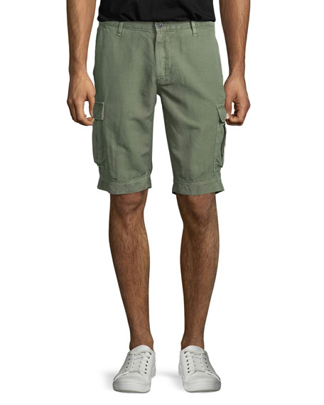AG Adriano Goldschmied Bunker Sulfur Cargo Shorts, Dry