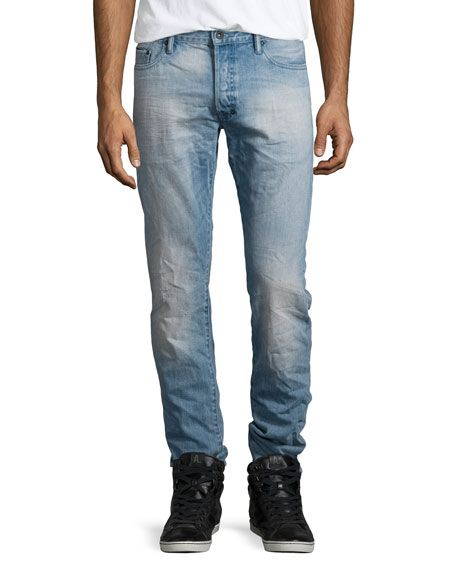 PRPS Barracuda Slim-Fit Denim Jeans, Light Blue