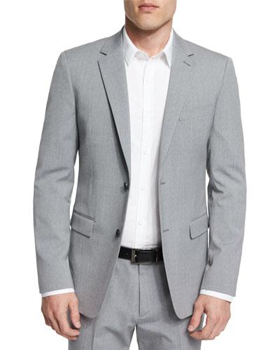 Wellar New Tailor Wool Blazer, Gray