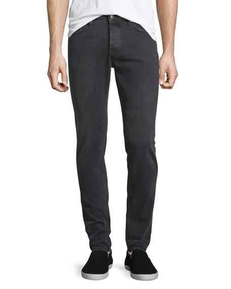 Iro James Slim-Fit Denim Jeans, Gray Used
