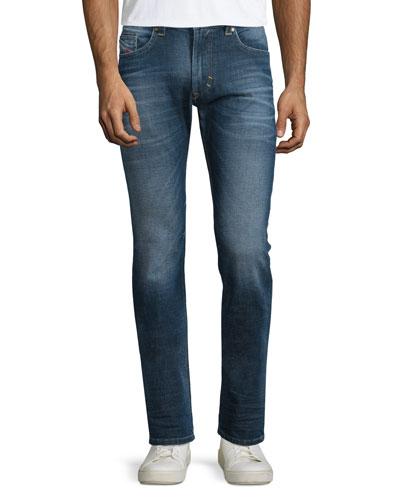 Thavar Slim-Fit Denim Jeans, Blue