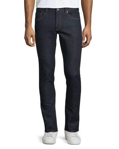 Slim-Fit Stretch Denim Jeans, Rinse Wash