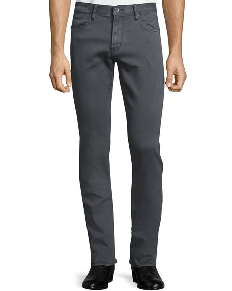 John Varvatos Star USA Bowery Slim-Straight Denim Jeans,