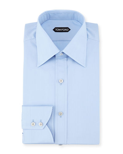 Tom ford dress shirts tuxedo shirts dinner jackets at for Dinner shirts slim fit
