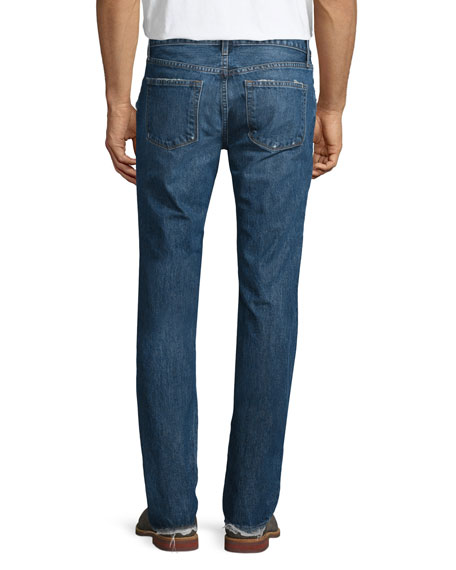 Tyler Destroyed Slim-Fit Denim Jeans, Destructed Gemma
