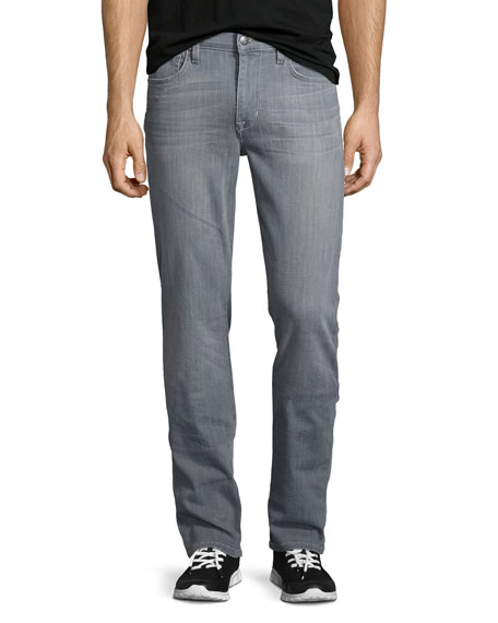 Joe's Jeans Brixton Cool Off Washed Denim Jeans, Gray